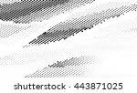 halftone dots vector texture... | Shutterstock .eps vector #443871025