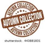 Autumn Collection Brown Grunge...
