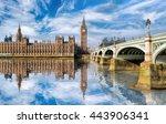 Big Ben With Bridge In London ...