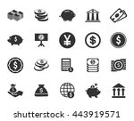 investment icons  | Shutterstock .eps vector #443919571