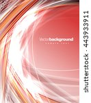 abstract shiny background. red... | Shutterstock .eps vector #443933911