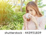 soft focus and blurry of... | Shutterstock . vector #443951839