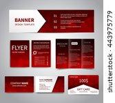 banner  flyers  brochure ... | Shutterstock .eps vector #443975779