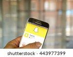 montreal  canada   june 23 ... | Shutterstock . vector #443977399