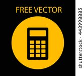 calculator free vector style...