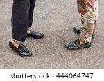 milan  italy   june 21  detail... | Shutterstock . vector #444064747