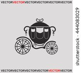 carriage icon. | Shutterstock .eps vector #444083029