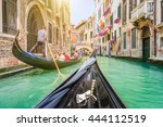 Traditional Gondolas Narrow Canal Venice - Fine Art prints