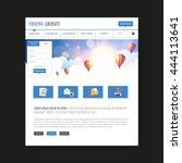 website design with fantasy...
