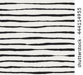 vector seamless pattern. black... | Shutterstock .eps vector #444114955