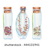 illustration romantic and... | Shutterstock . vector #444131941