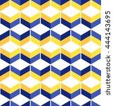 Wavy Geometric Seamless Patter...