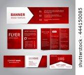 banner  flyers  brochure ... | Shutterstock .eps vector #444150085