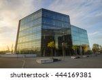 szczecin  poland circa november ... | Shutterstock . vector #444169381
