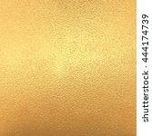 gold  yellow metal foil ... | Shutterstock . vector #444174739