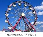 Ferris Wheel At The County Fair