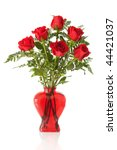 Vase Arrangement Of 6 Long Ste...