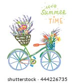 Happy Summer Time Card With...