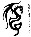 vector illustration  dragon... | Shutterstock .eps vector #444233209