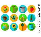 gardening icon | Shutterstock .eps vector #444244051