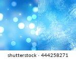 bokeh light  shimmering blur... | Shutterstock . vector #444258271