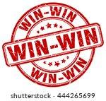 win win. stamp | Shutterstock .eps vector #444265699