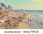 tel aviv israel   june 19 2015... | Shutterstock . vector #444279925