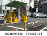 toyama  japan  june 21 2016 ... | Shutterstock . vector #444308761