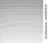 pop art background  black dots... | Shutterstock .eps vector #444309625