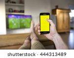 lendelede belgium   june 25th... | Shutterstock . vector #444313489