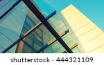abstract architecture... | Shutterstock . vector #444321109