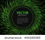 abstract glossy swirl... | Shutterstock .eps vector #444340585