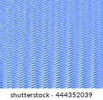 blue staggered wave background... | Shutterstock . vector #444352039