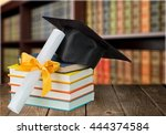 graduation. | Shutterstock . vector #444374584