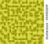 abstract yellow squares.... | Shutterstock .eps vector #444402649