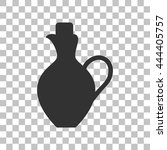 amphora sign illustration. dark ...