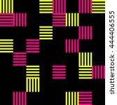 trend stripe pattern seamless. | Shutterstock .eps vector #444406555