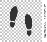 imprint soles shoes sign. dark...