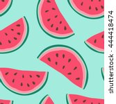seamless background with...   Shutterstock .eps vector #444418474