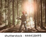 Musician Playing Guitar In The...