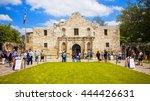 san antonio  texas   april 15 ... | Shutterstock . vector #444426631