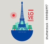 Save The Date  Paris Landmark ...