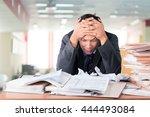 emotional stress. | Shutterstock . vector #444493084