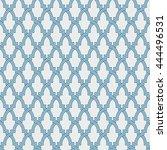 entwined modern pattern  based... | Shutterstock .eps vector #444496531