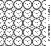clock seamless pattern...