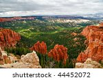 View From Viewpoint Of Bryce...