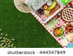 Picnic At The Park On The Gras...