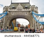 london  uk   august 21  2011 ...   Shutterstock . vector #444568771