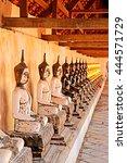 ratchaburi thailand june 25  ... | Shutterstock . vector #444571729