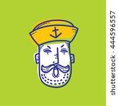 art design of sailor cartoon ...